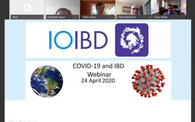 IOIBD WEBINARS on COVID19 and IBD